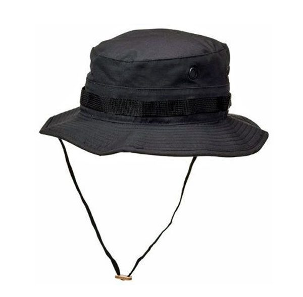 Propper-Black-boonie-hat-web