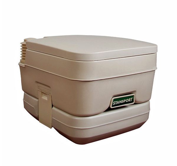 Stansport deluxe easy potty general army navy for Deluxe portable bathrooms