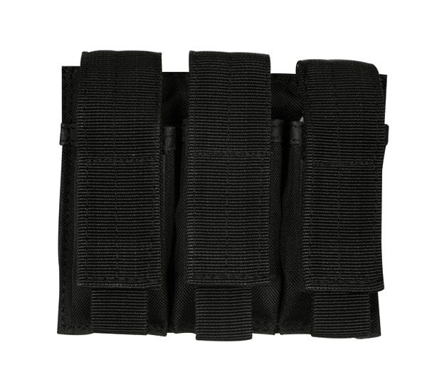 Fox-Pistol-Triple-Mag-Black-Pouch