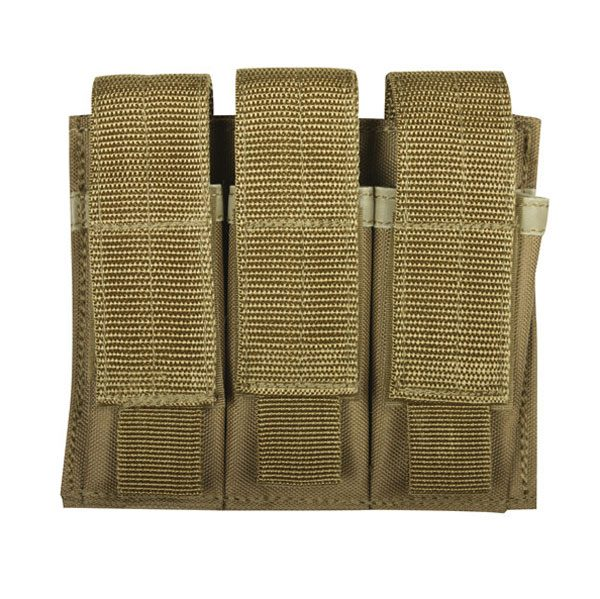Fox-Pistol-Triple-Mag-Coyote-Pouch
