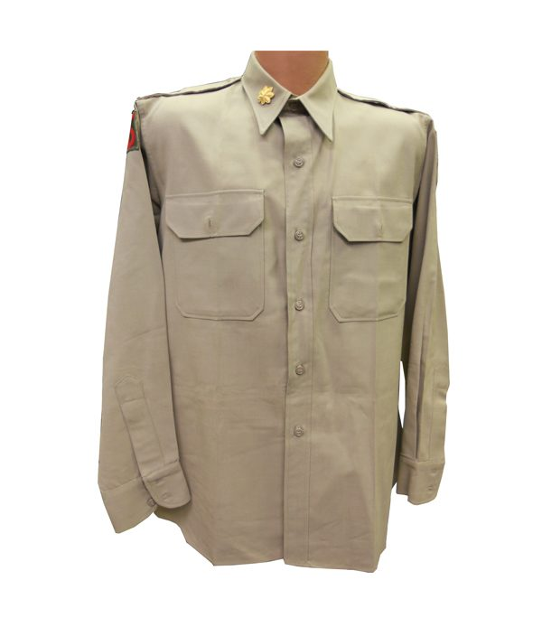 US-ARMY-WWII-OFFICER-SUMMER-DRESS-SHIRT