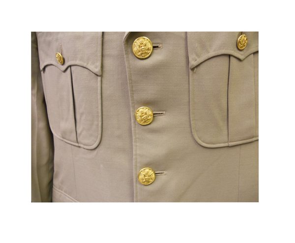 US-Army-WW-II-Officer-Summer-Dress-Jacket-Boutton-1