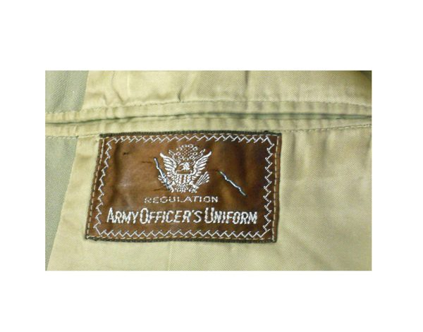 US-Army-WW-II-Officer-Summer-Dress-Jacket-Label
