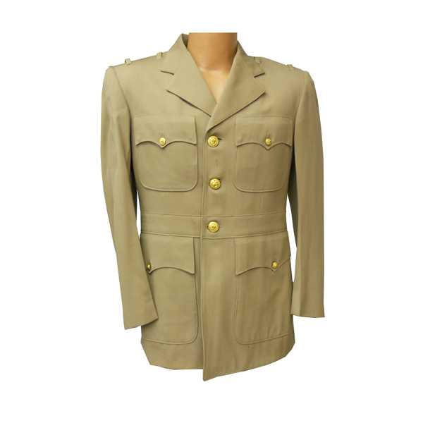US-Navy-WW-II-Service-Dress-Khaki-Officer-Jacket-1