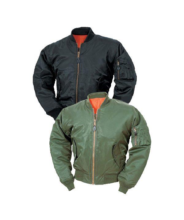 North15-MA1-Black-and-Olive-Jacket