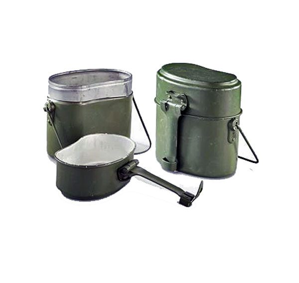 Surplus-Used-Polish-Aluminium-Mess-Kit