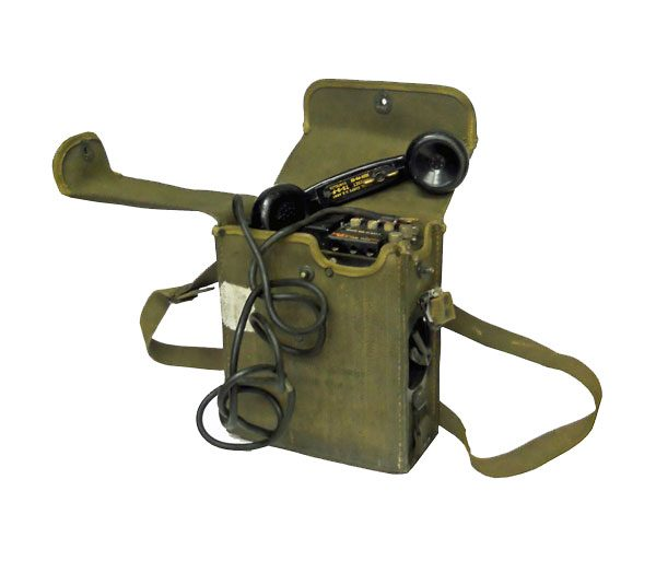 Us Army Surplus >> Us Wwii Army Surplus Ee 8 Phone In Canvas Case General Army Navy