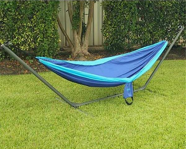 Texsport-Rambler-Double-Travel-Hammock-Blue