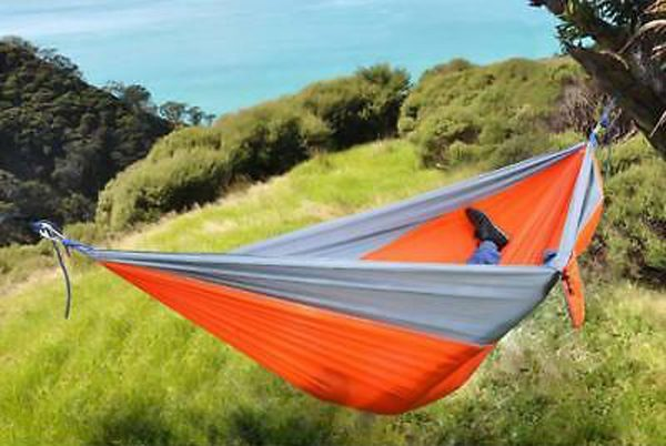Texsport-Rambler-Double-Travel-Hammock-Orange