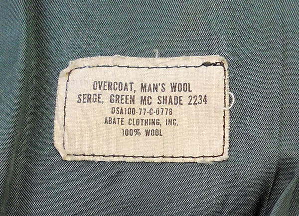 US-Marine-CORPS-Mens-Wool-Overcoat