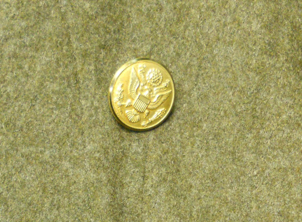 US-WWII-Army-wool-Overcoat-Gold-Button-1