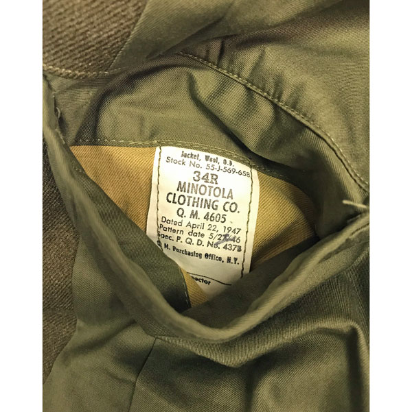 US-Army-WWII-IKE-Wool-Jacket-5