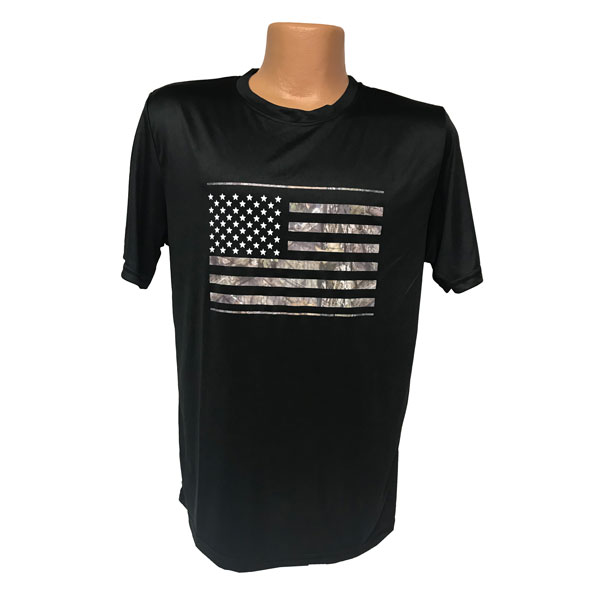US-Flag-Black-T-Shirt