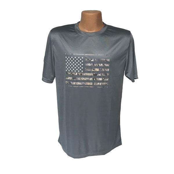 US-Flag-Gray-T-Shirt