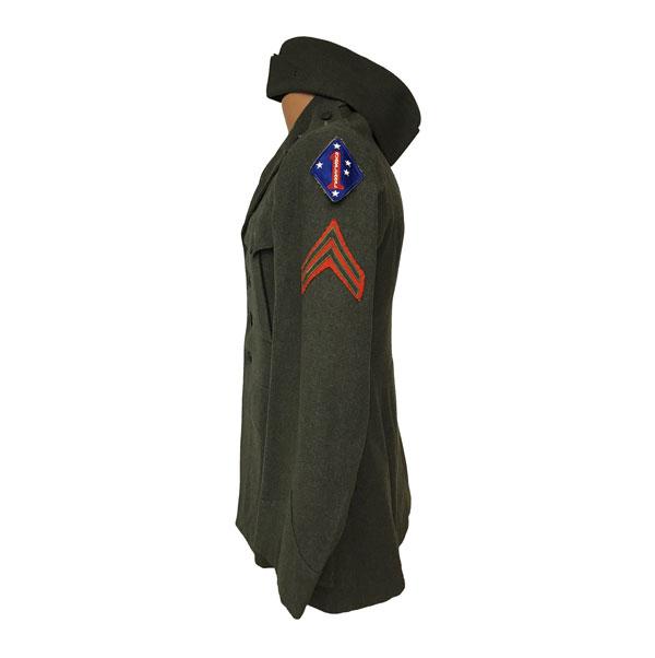 USMC-WWII-Mens-Service-wool-Coat-3