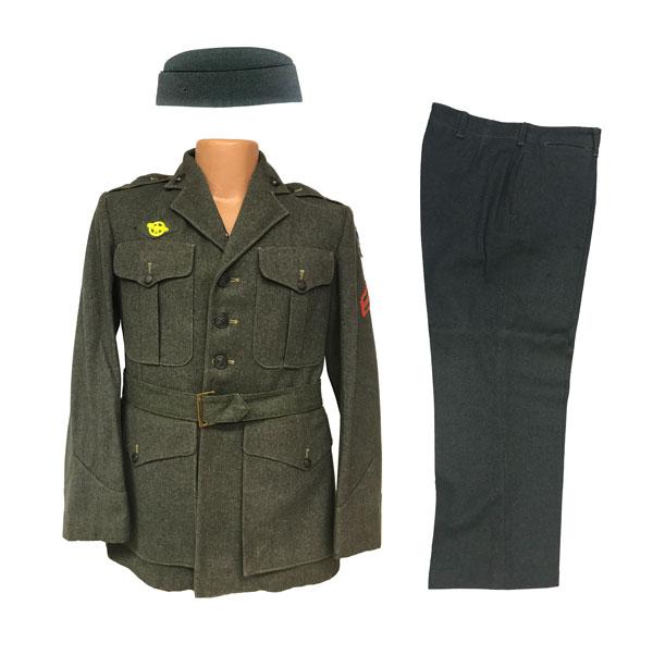 USMC-WWII-Mens-Service-wool-Coat-6