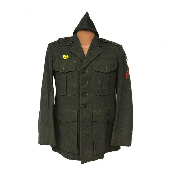 USMC-WWII-Mens-Service-wool-Coat