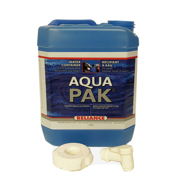Reliance-2.5-Gallons-Aqua-Pak™-Water-Container