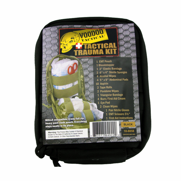 VOODOO-TACTICAL-Tactical-Trauma-Kit-Black