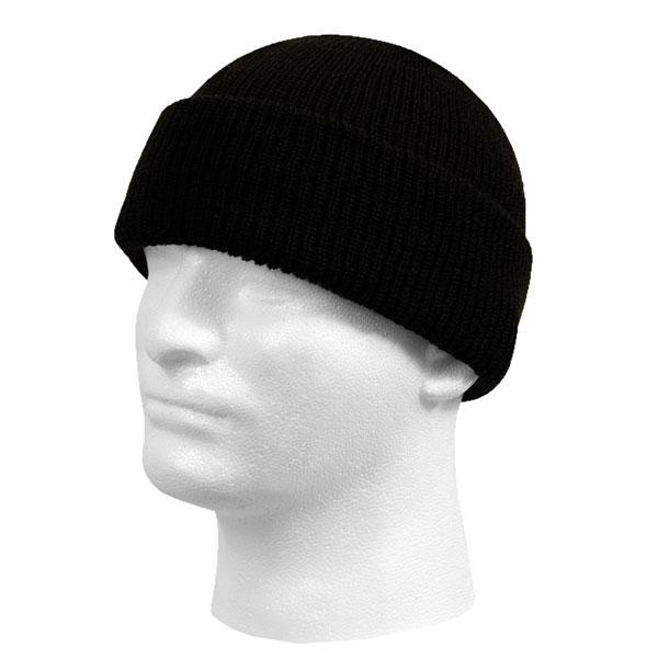 Rothco-GI-Black-Wool-Watch-Cap-1