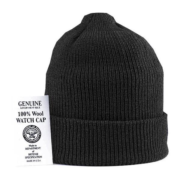 Rothco-GI-Black-Wool-Watch-Cap-4