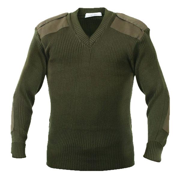 Rothco-OD-V-Neck-Sweater