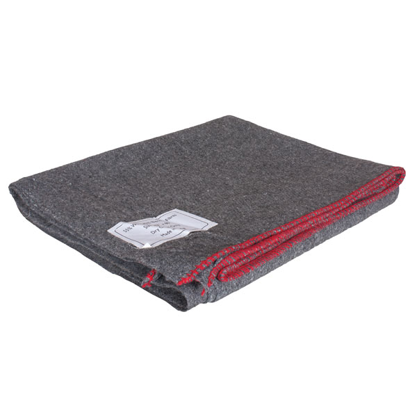 Fox-Outdoor-Products-Gray-Wool-Camp-Blanket-1