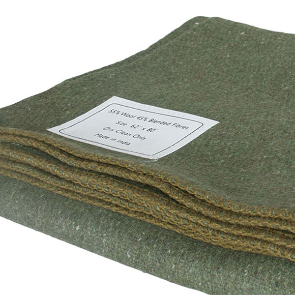 Fox-Outdoor-Products-OD-Wool-Camp-Blanket-1
