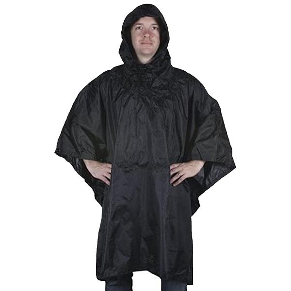 FOX-Outdoor-Products-Rain-Poncho-Black