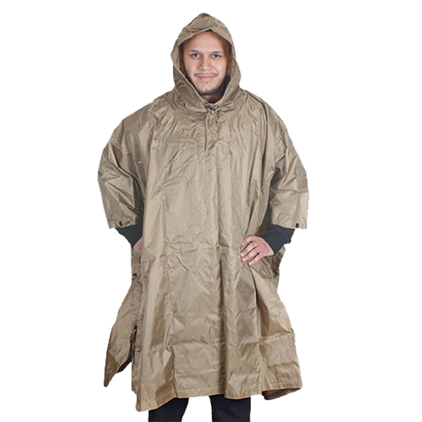 FOX-Outdoor-Products-Rain-Poncho-Coyote