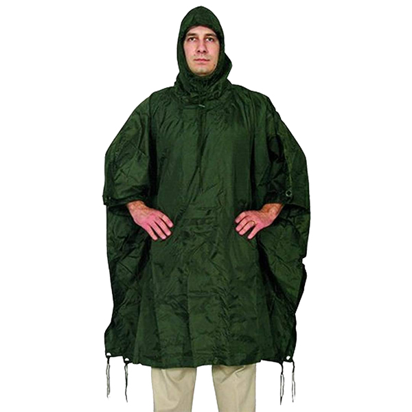 FOX-Outdoor-Products-Rain-Poncho-Olive-Drab
