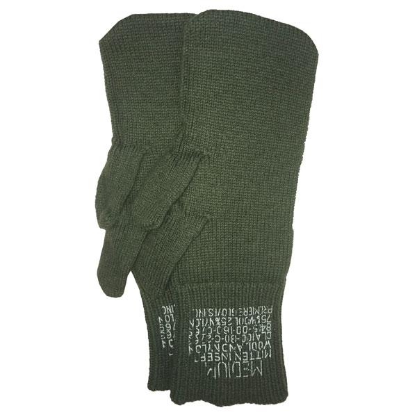 Surplus-Used-Trigger-Finger-Mittens-Wool-Liner